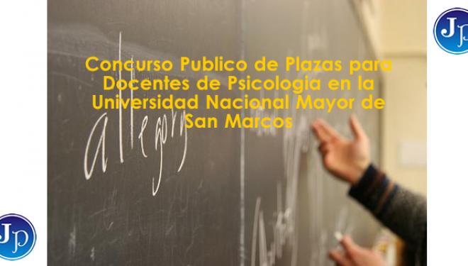 Concurso p blico de plazas docentes de psicolog a en la for Concurso plazas docentes