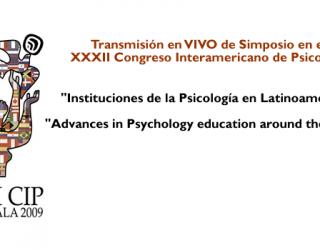 Transmisión Mundial de Simposio del XXXII CIP de Guatemala