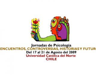"""Jornadas de Psicología """"ENCUENTROS, CONTROVERSIAS, HISTORIA Y FUTUROS…"""""""
