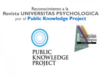 Reconocimiento como Revista Destacada a la Revista Universitas Psychologica por PKP