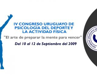 IV Congreso Uruguayo de Psicología de la Actividad Física y del Deporte