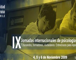 IX Jornadas Internacionales de Psicología Educacional – Chile