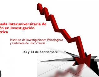 1era Jornada Interuniversitaria de Innovación en Investigación Psicométrica