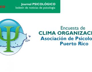 Colabora con la encuesta de Clima Organizacional de Puerto Rico