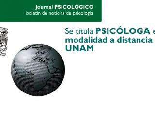 Se titula la primera psicóloga en modalidad a distancia en la UNAM – México