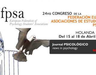 24 Congreso de la Federación Europea de Asociaciones de Estudiantes de Psicología -EFPSA