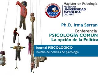 Conferencia Magistral sobre Psicología Comunitaria en Perú