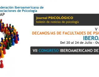 V Reunión de Decanos de Facultades de Psicología de Iberoamérica – España