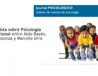 Entrevista sobre Psicología Educacional entre Aldo Bazan, Jorge Inzunza y Marcelo Urra