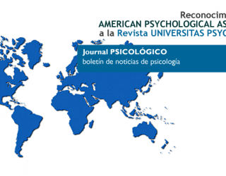 Reconocimiento de la APA a la Revista Universitas Psychologica