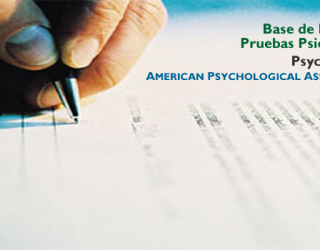 Base de Datos de Pruebas Psicológicas de la APA – PsycTESTS