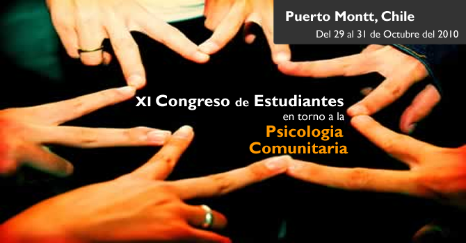 XI Congreso de Estudiantes en torno a la Psicologia Comunitaria