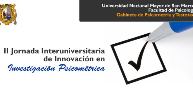II Jornada Interuniversitaria de Innovacion en Investigación Psicométrica