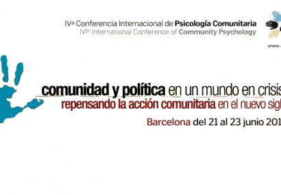 Cuarta Conferencia Internacional de Psicología Comunitaria